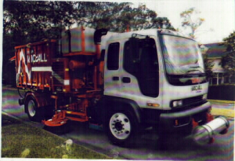 Vac/all Sweeper